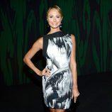 Stacy Keibler en el front row de la Semana de la Moda de Nueva York