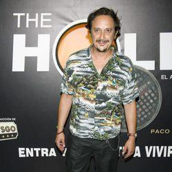 Luis Callejo en el estreno de la nueva temporada de 'The Hole'