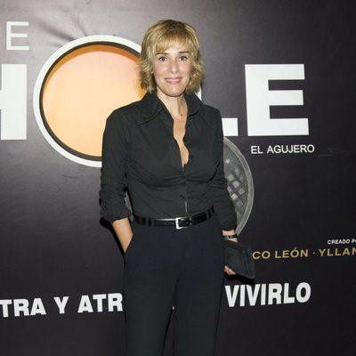 Anabel Alonso en el estreno de la nueva temporada de 'The Hole'