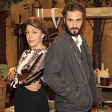 María Bouzas y Álex Gadea celebran los 400 capítulos de 'El secreto de Puente Viejo'