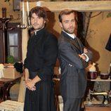 Jordi Coll y Carlos Serrano celebran los 400 capítulos de 'El secreto de Puente Viejo'
