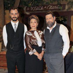 Iago García, María Bouzas y Mario Zorrilla en los 400 capítulos de 'El Secreto de Puente Viejo'
