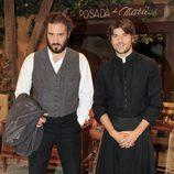 Álex Gadea y Jordi Coll celebran 400 capítulos de 'El Secreto de Puente Viejo'