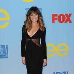 Lea Michele presenta la cuarta temporada de 'Glee'