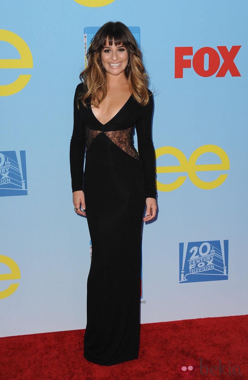 Lea Michele presenta la cuarta temporada de \'Glee\' - Presentación de ...