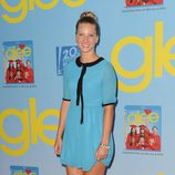 Heather Morris presenta la cuarta temporada de 'Glee'