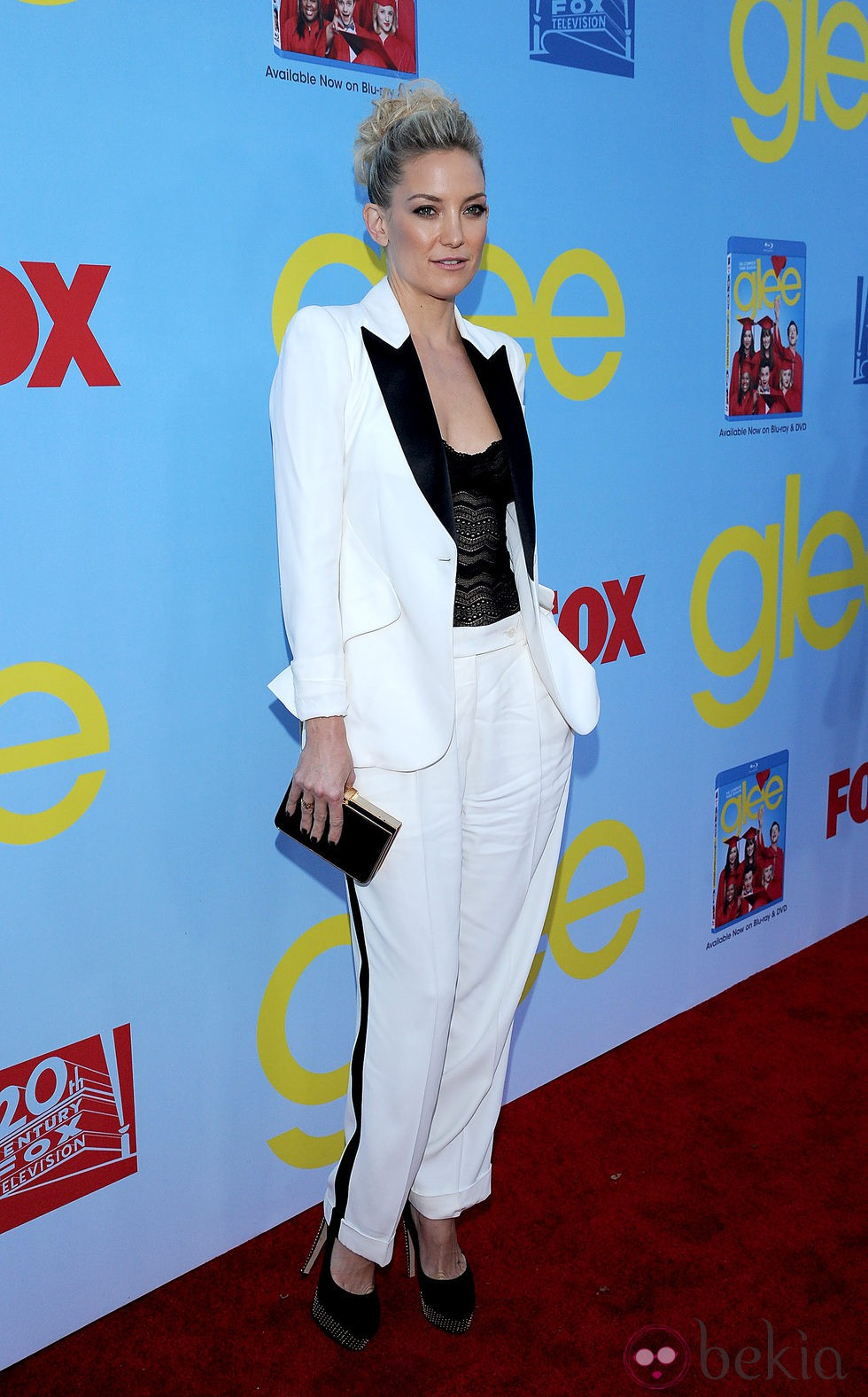 Kate Hudson presenta la cuarta temporada de 'Glee'