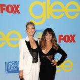 Lea Michele y Kate Hudson presentan la cuarta temporada de 'Glee'
