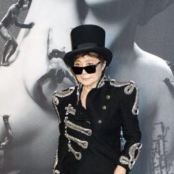 Yoko Ono en la presentación de la fragancia 'Fame'