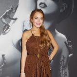 Lindsay Lohan en la presentación de la fragancia 'Fame'