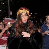 Lady Gaga en la presentación de su fragancia 'Fame'