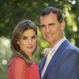 Los Príncipes Felipe y Letizia