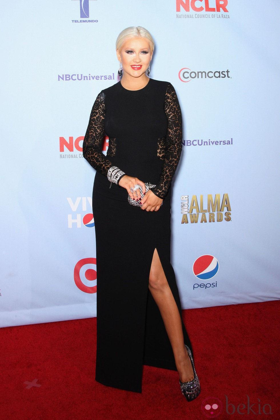 Christina Aguilera en los Premios Alma 2012