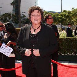 Dot Marie Jones en los Emmy Creativos 2012