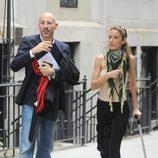 Telma Ortiz y Jaime del Burgo se instalan en Nueva York tras su boda