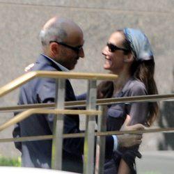 Telma Ortiz y Jaime del Burgo, muy cariñosos en Nueva York