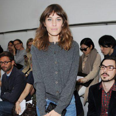 Alexa Chung en la Semana de la Moda de Londres primavera/verano 2013