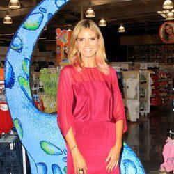 Heidi Klum presenta su colección de ropa infantil en Los Ángeles