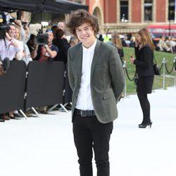 Harry Styles en la Semana de la Moda de Londres primavera/verano 2013