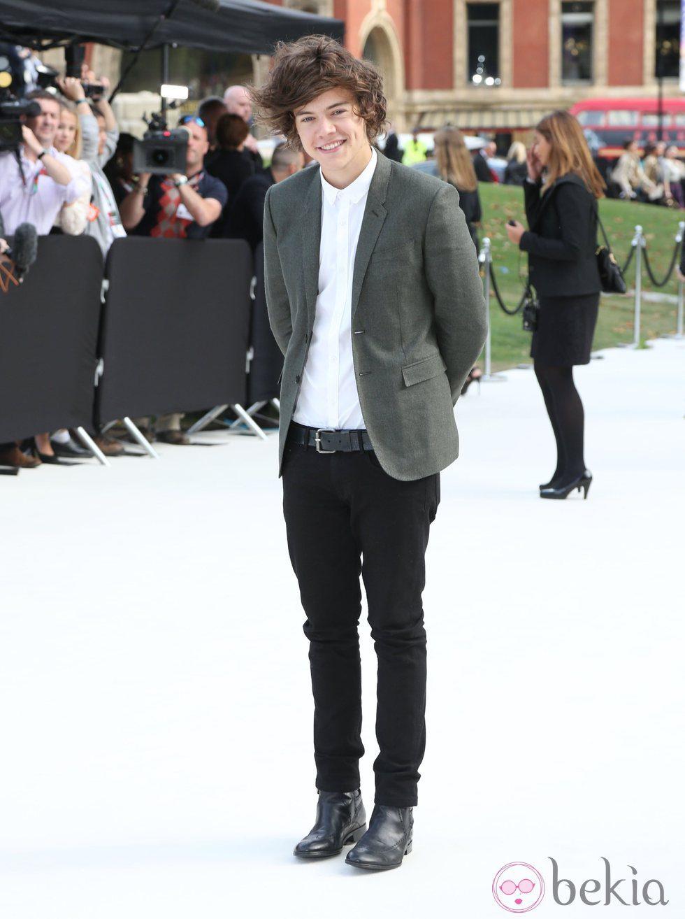Harry Styles One Direction Wiki FANDOM powered by Wikia Harry styles at london fashion week