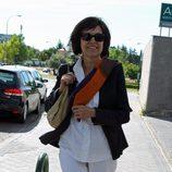 Concha García Campoy tras someterse a un autotrasplante de médula