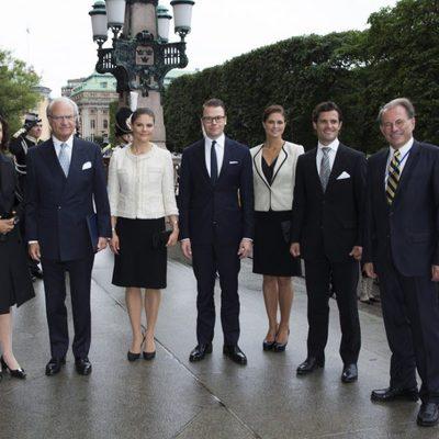 La Familia Real Sueca en la apertura del Parlamento
