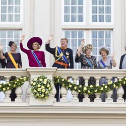 La Familia Real Holandesa en la apertura del Parlamento