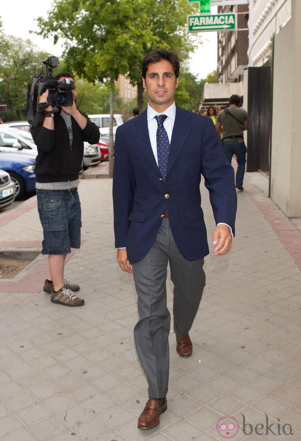 Fran Rivera tras el juicio por la custodia de su hija Cayetana