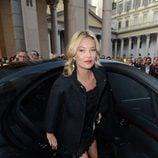 Kate Moss visita la Semana de la Moda de Milán primavera/verano 2013
