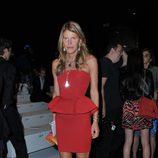 Anna Dello Russo en el desfile primavera/verano 2013 de Gucci en la Milan Fashion Week