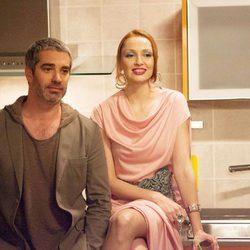 Adrià Collado y Cristina Castaño en 'La que se avecina'