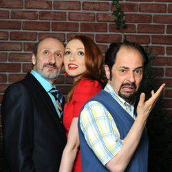 Jordi Sánchez, José Luis Gil y Cristina Castaño de 'La que se avecina'