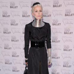 Daphne Guinness en la Gala de Otoño del Ballet de Nueva York 2012