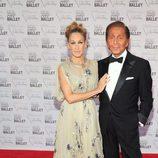 Sarah Jessica Parker y Valentino en la Gala de Otoño del Ballet de Nueva York 2012
