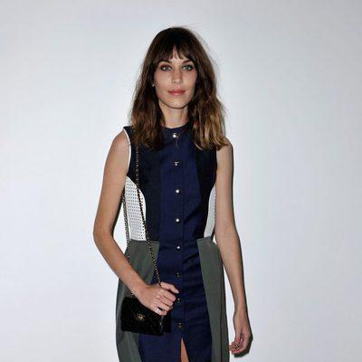 Alexa Chung en la London Fashion Week primavera/verano 2013