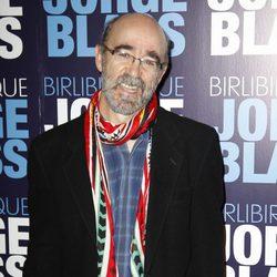 Álex Angulo en la presentación del espectáculo 'Birlibirloque'