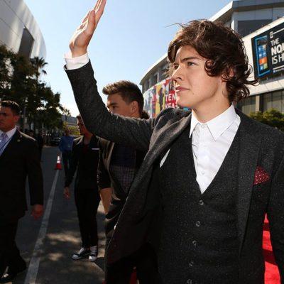 Harry Styles llega a los MTV Video Music Awards 2012