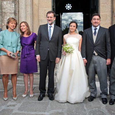 Foto de familia de la boda del hijo de Alberto Ruiz Gallardón