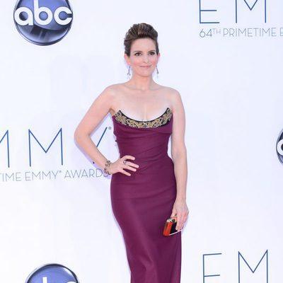 Tina Fey en los Emmy 2012