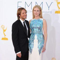 Nicole Kidman y Keith Urban en los Emmy 2012