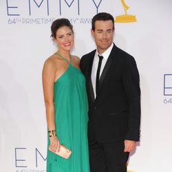 Carson Daly y Siri Pinter en los Emmy 2012