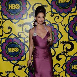 Ashley Judd en la fiesta celebrada por la HBO tras los Premios Emmy 2012