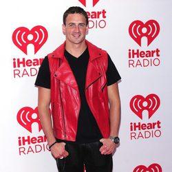Ryan Lochte en el festival de música IHeartRadio 2012
