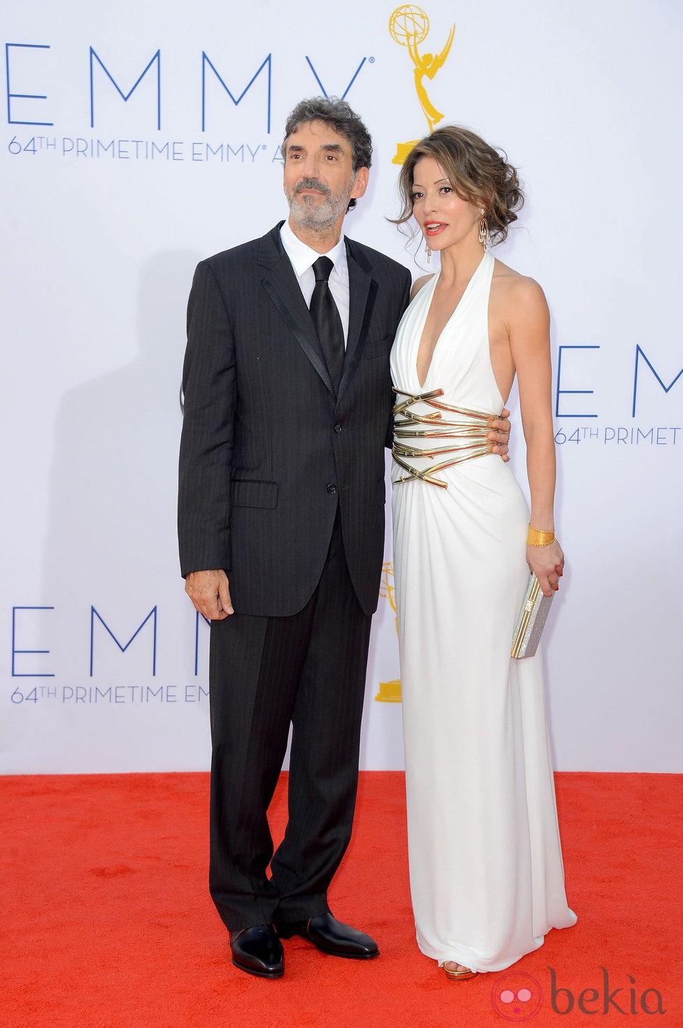 Chuck Lorre en los Premios Emmy 2012