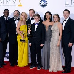 El reparto de 'Homeland' en los Emmy 2012