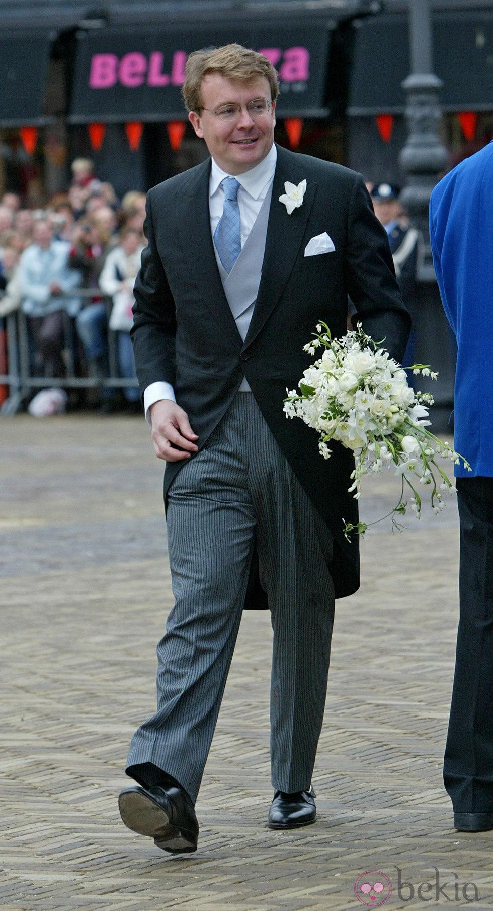 El Príncipe Friso de Holanda