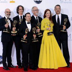 El equipo de 'Game Change' en los Emmy 2012