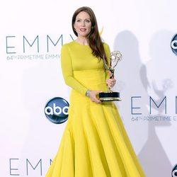 Julianne Moore, radiante con su Emmy 2012