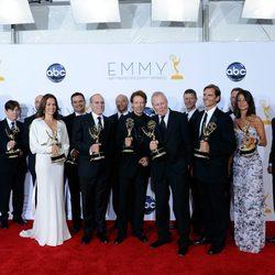 El equipo de 'The Amazing Race' en los Emmy