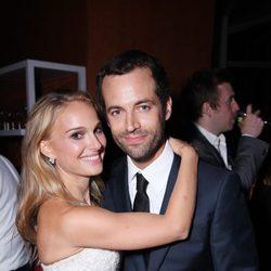Natalie Portman y Benjamin Millepied, muy cariñosos en el estreno de 'L.A. Dance Project'